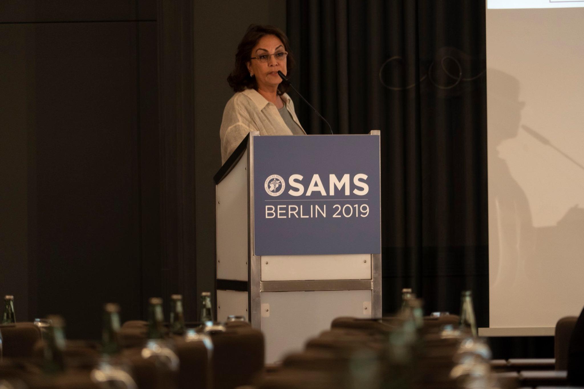 SAMS 19th International Conference in Berlin